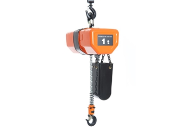 Three phase and single phase electric chain hoists