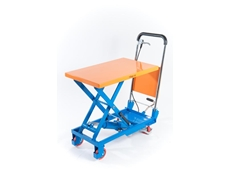 Scissor trolleys with 4 lifting capacities
