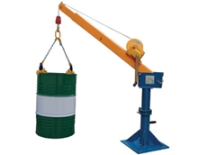 Telescopic Jib Crane for Safe Handling of Heavy Loads from Pacific Hoists