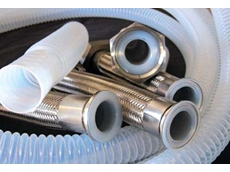 Encapsulated PTFE hoses feature excellent mechanical resistance for vibrations and flexing