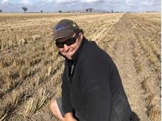 Natimuk farmer Brian Klowss