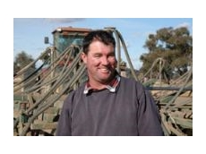 Russell Moloney has won a trip to Germany this July, thanks to buying Tornado TT canola from Elders Albury.