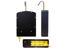 CTL2000 8 channel temperature loggers have a hook so that the device can be hooked to a carcass