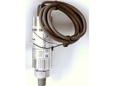 Combination pressure and temperature transducer