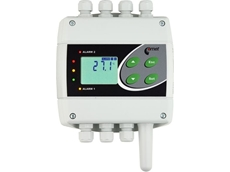 H430 temperature regulator with relay and RS485 outputs
