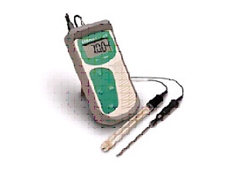 Hand held pH meter from Pacific Sensor Technologies