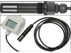 IP 65 Temperature and humidity transmitter for compressed air from Pacific Sensor Technologies