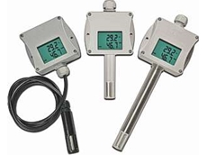 IP65 programmable temperature and humidity transmitters