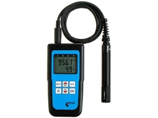 All-in-one Thermometer, Hygrometer, Barometer and Data Logger with extended sensor probe