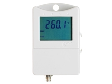 Water proof temperature data logger with external plug in PT1000 sensor