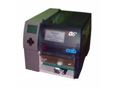 Cab A+ series thermal transfer label printers are distributed locally by Packserv