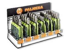 Brightly coloured pliers in Palmera's full warranty range.