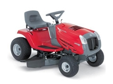 Ride-on-mower from Parklands Power Products.