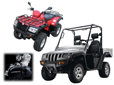 ATVs and UTVs from Parklands