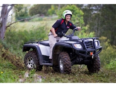 Quad bike riders are advised to ride with more caution, and stay within specified speed and weight recommendations for the vehicle