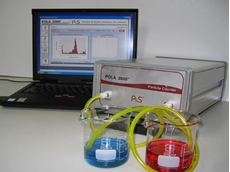 POLA 2000 particle size analyser and counter