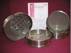 Test sieves and sieve shaker equipment