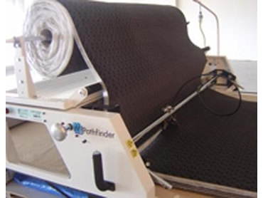 Fast and economical single operator fabric spreading from Pathfinder