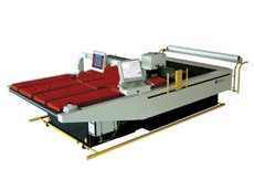 Pathfinder K-3000 series of high-speed servo controlled fabric-cutting machines by Pathfinder Australia