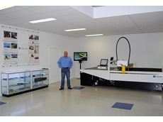 Wayne Walker Sales Manager Pathfinder at the new demonstration facility in Melbourne