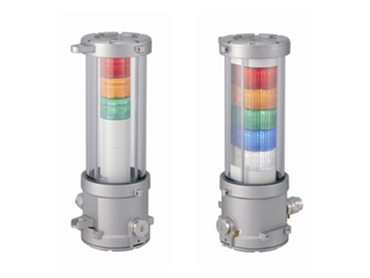 Emergency warning lights from Patlite