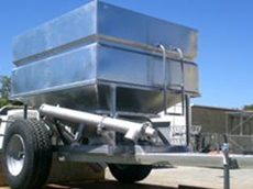 Feed Out Bin - 6 Cubic Metres