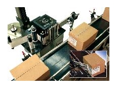 Weber 5200 corner wrap label printer and applicator