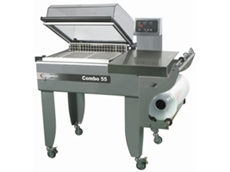 Clearpack Chamber Shrink Wrapper Combo 55/85 available from Perfect Packaging