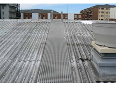 FRP walkway for roofs