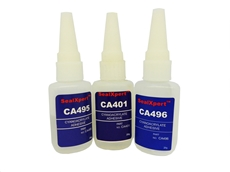 Cyanoacrylate Adhesives from Permanent Painted Coatings