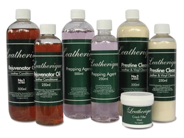 Leatherique Product range by Permanent Painted Coatings
