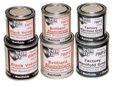 Heat resistant industrial paints