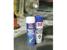 Aerosol cleaners for hard-to-clean components