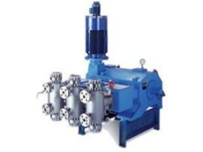 Diaphragm pump head