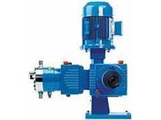 LEWA ecoflow metering pump with diaphragm protection system