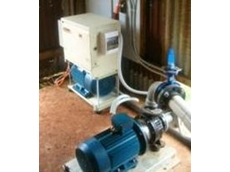 8kw three phase power converter operating an irrigation pump