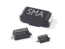 75% smaller than rectifiers in the industry-standard SMA package.