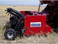 Rollerdown harvester pickups