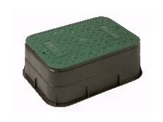 Domestic range valve box.