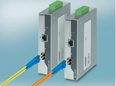 FL MC 2000E SM40 LC Ethernet media converters