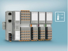 The Axioline F I/O modules now include versions with an extended temperature range of -40°C to 70°C