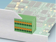 Phoenix Contact's double-row PCB terminal block