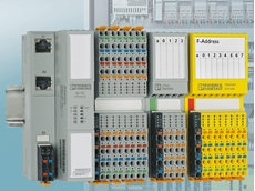Profisafe modules enable the acquisition and output of safety-related signals in the control cabinet