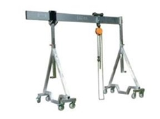 Moveable gantry crane