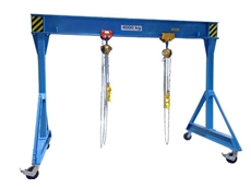 Hercules-Mobile Gantry Crane for a versatile solution to transport and lifting limitations