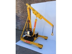 Phoenix Lifting releases 1500kg mobile hydraulic floor crane