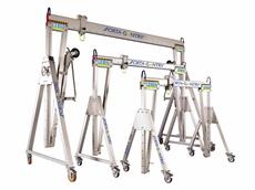 Mobile Aluminium Gantry Cranes 1100KG - 5000KG Capacity
