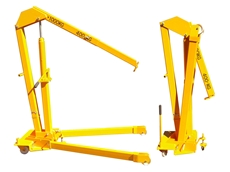 Phoenix Lifting Foldaway Mobile Floor Crane
