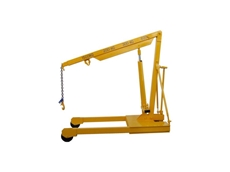 One of a range of Australian mobile floor cranes available from Phoenix Lifting.