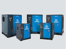 Pilot Air PAC Series rotary screw air compressors up to 75KW